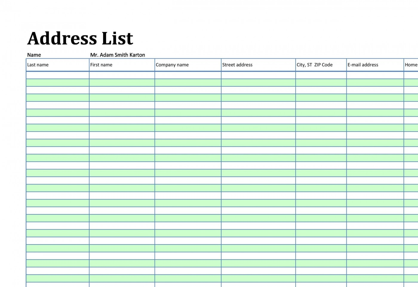 002 Marvelou Microsoft Excel Phone List Template Design  Contact Part1400