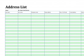 002 Marvelou Microsoft Excel Phone List Template Design  Contact Part