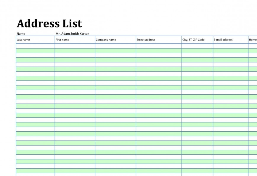 002 Marvelou Microsoft Excel Phone List Template Design  Contact Part868