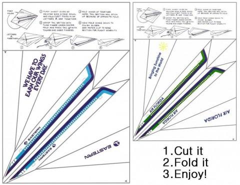 002 Marvelou Printable Paper Airplane Pattern High Def  Free Plane Design Designs-printable Template480