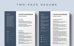 002 Marvelou Professional Resume Template 2019 Free Download High Definition  Cv