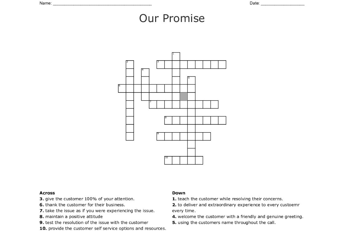 002 Marvelou Promise Crossword Clue Highest Clarity  Go Back On A 6 Letter 3 Of Marriage 9Full