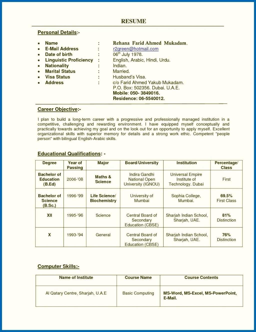 002 Marvelou Resume Sample For Teaching Job In India High Definition  School Principal PositionLarge
