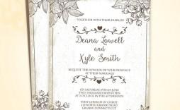 002 Marvelou Sample Wedding Invitation Template Free Download Highest Quality  Wording