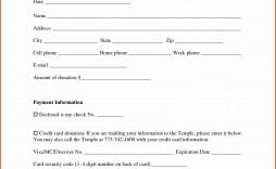 002 Marvelou Tax Deductible Donation Receipt Printable Example