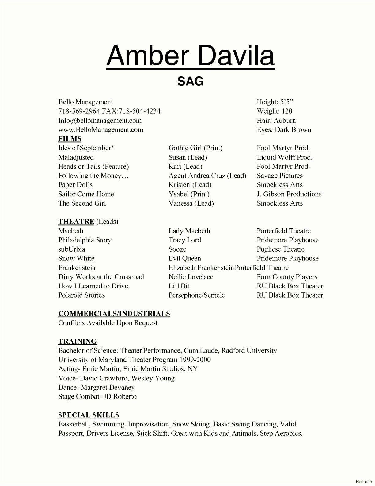 002 Marvelou Technical Theatre Resume Template Design  Google Doc TechFull