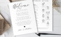 002 Marvelou Wedding Guest Welcome Letter Template Inspiration