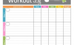 002 Marvelou Weekly Workout Schedule Template Highest Quality  12 Week Plan Training Calendar