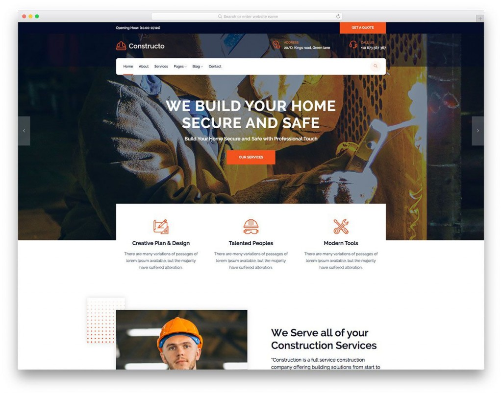 002 Outstanding Busines Website Html Template Free Download High Resolution  With Cs CompanyLarge