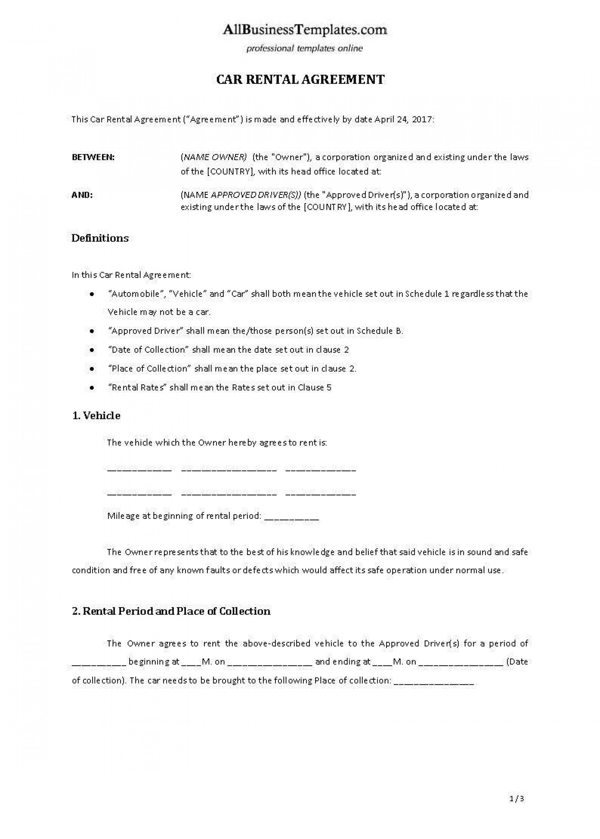 002 Outstanding Car Lease Agreement Template High Def  Vehicle Ontario Rental Singapore Leasing1920