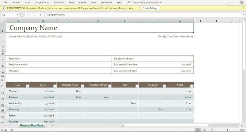 002 Outstanding Excel Time Card Calculator Template Highest Clarity  EmployeeLarge
