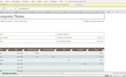 002 Outstanding Excel Time Card Calculator Template Highest Clarity  Employee