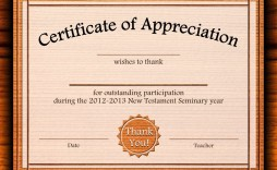 002 Outstanding Free Certificate Template Word Download Highest Quality  Of Appreciation Doc Award Border