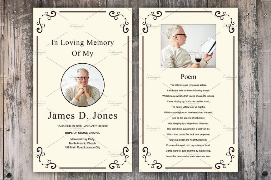 Free Printable Memorial Card Template from www.addictionary.org