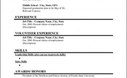 002 Outstanding Graduate Student Resume Template Word Highest Quality