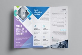 002 Outstanding M Word Tri Fold Brochure Template Design  Microsoft Free Download