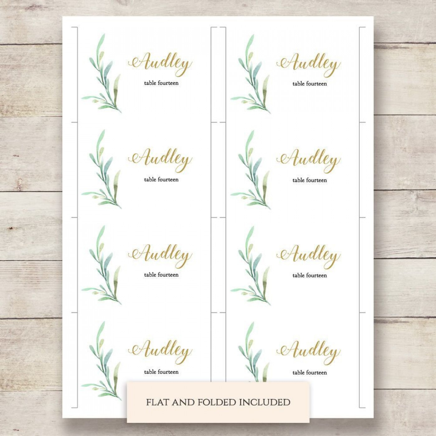 002 Outstanding Name Place Card Template High Resolution  Free Word Publisher Wedding1400