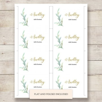 002 Outstanding Name Place Card Template High Resolution  Free Word Publisher Wedding360