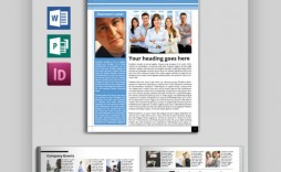 002 Outstanding Newsletter Template Microsoft Word High Resolution  Download Free Blank