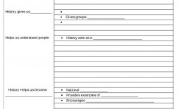 002 Outstanding Note Taking Template Pdf Example  Free Cornell