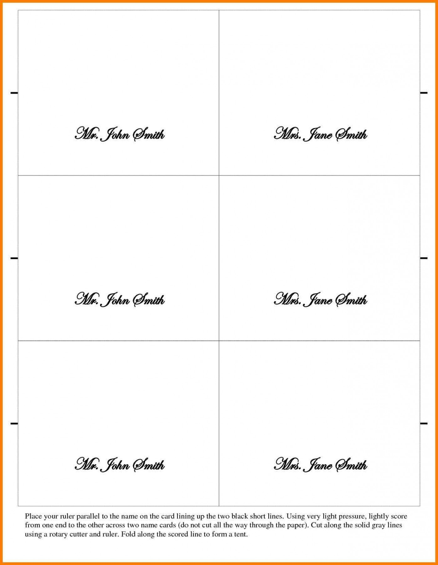 002 Outstanding Place Card Template Word Design  Free Name Folding Microsoft Table1400