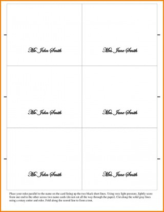 002 Outstanding Place Card Template Word Design  Free Name Folding Microsoft Table320
