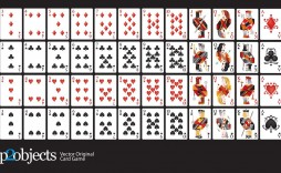 002 Outstanding Playing Card Template Free Download Picture  Blank