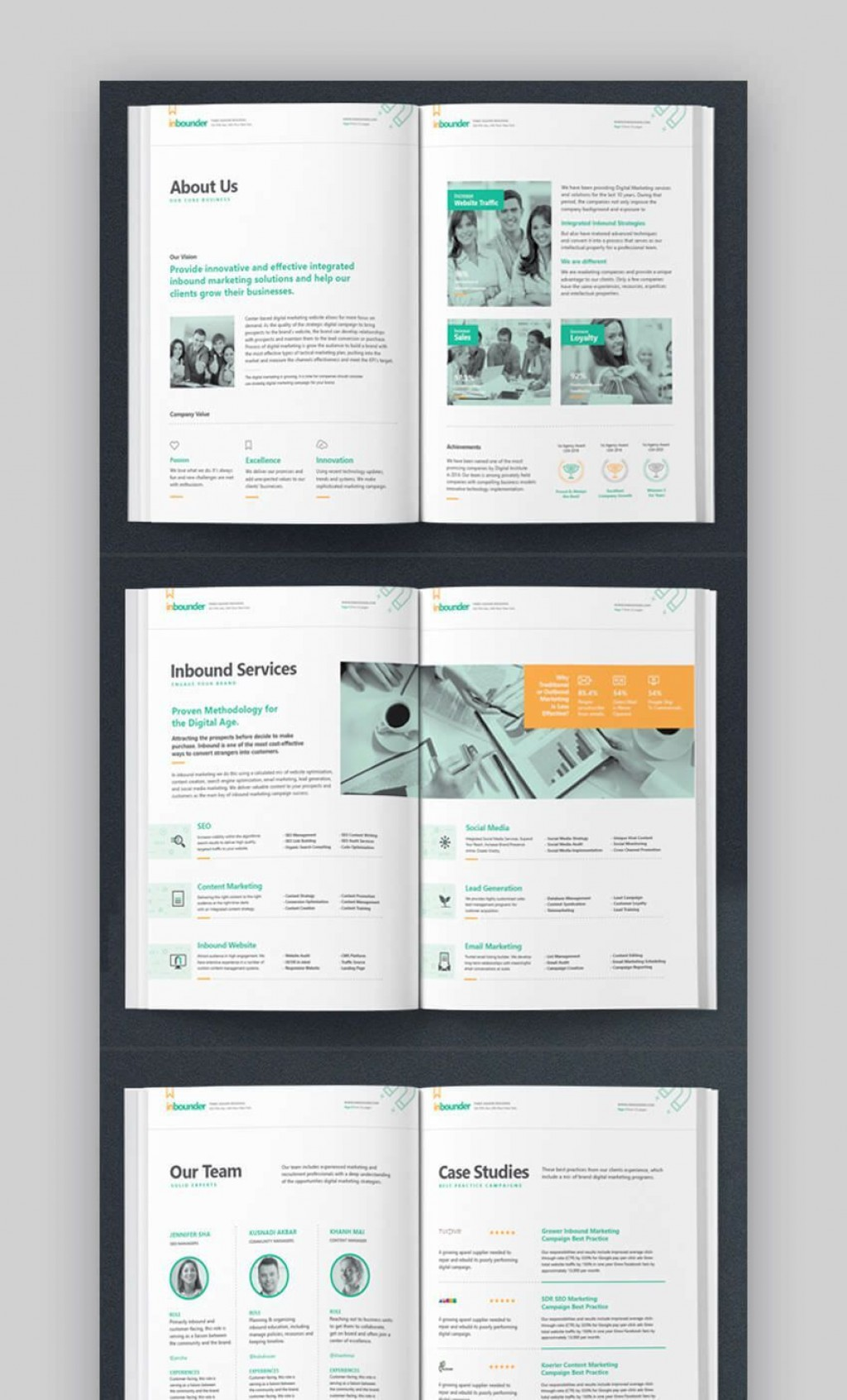 002 Outstanding Social Media Proposal Template 2019 High Resolution Large