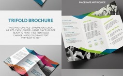 002 Outstanding Tri Fold Brochure Indesign Template Picture  Free A3
