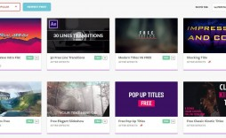 002 Phenomenal After Effect Video Template Concept  Templates Intro Free Download Cs5 Clip