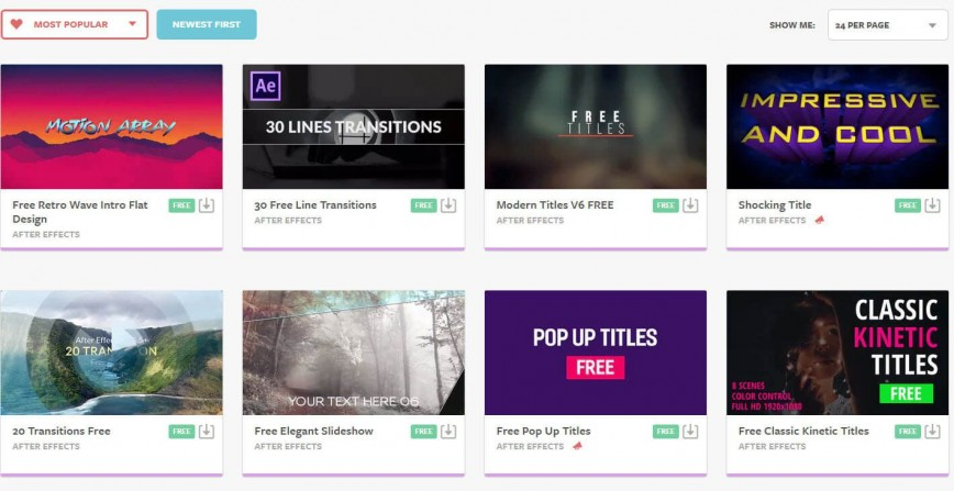 002 Phenomenal After Effect Video Template Concept  Templates Videohive Adobe Free