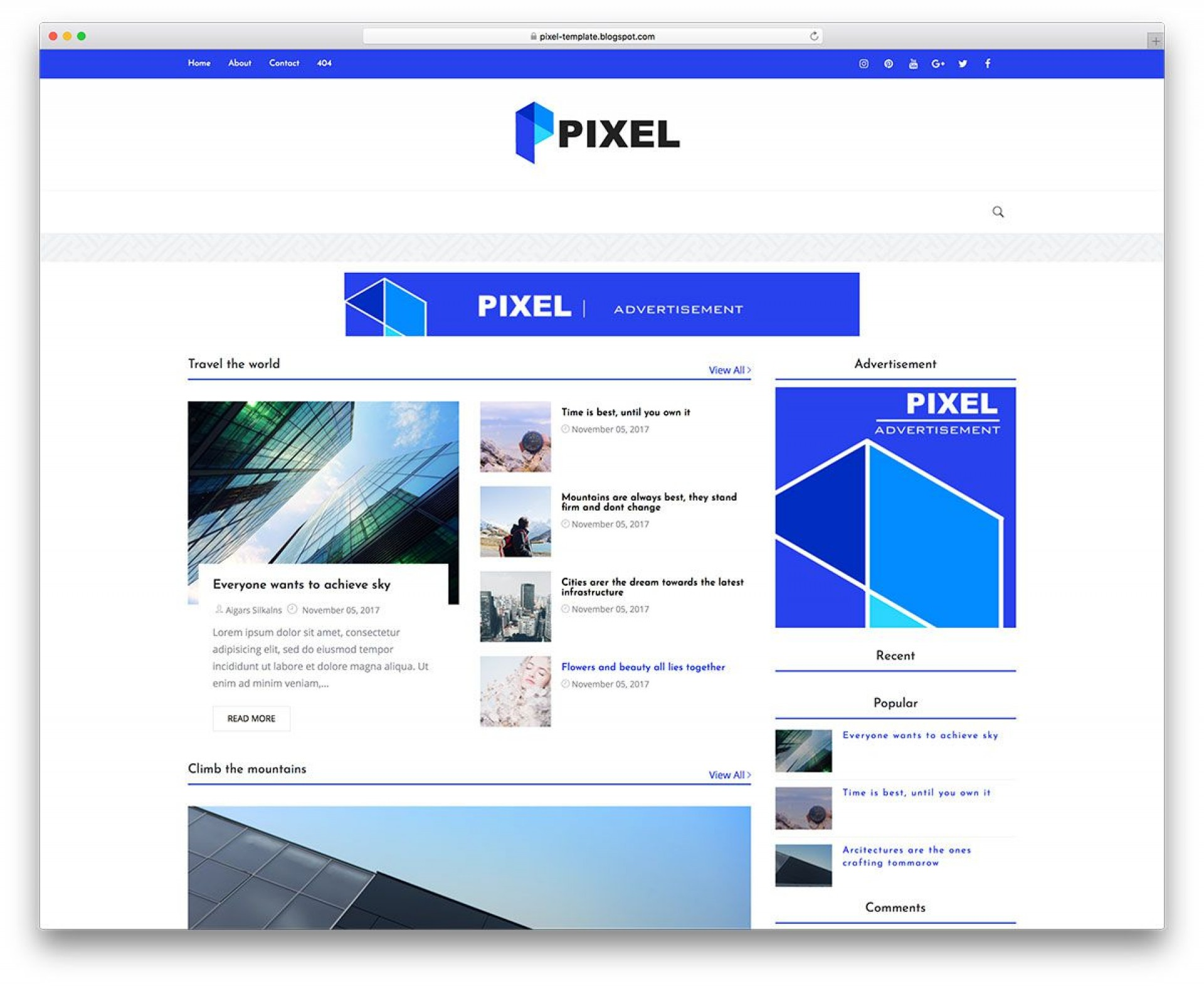 002 Phenomenal Best Free Blogger Template Highest Quality  Templates Responsive 2019 20201920