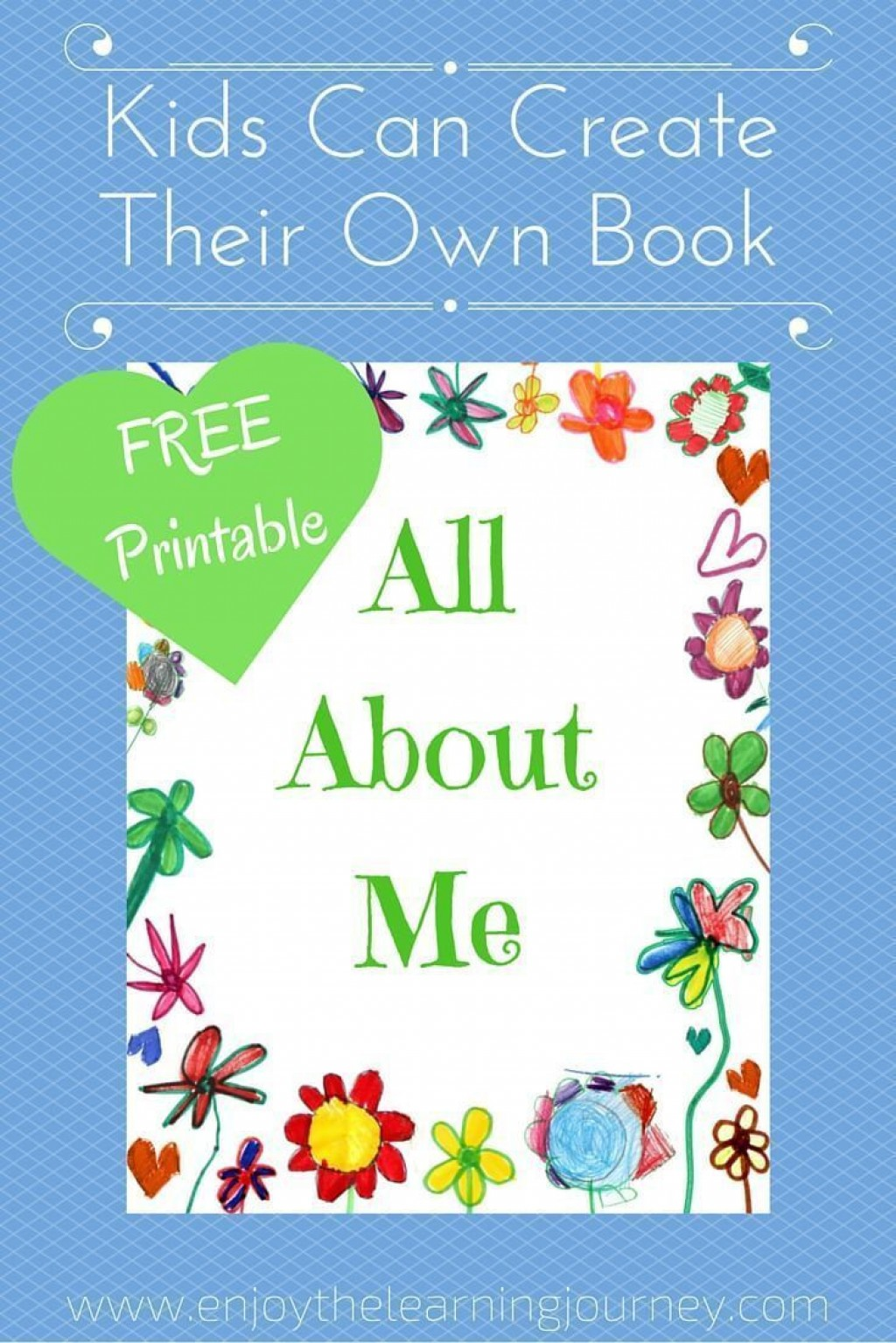 002 Phenomenal Book Template For Kid Example  KidsLarge