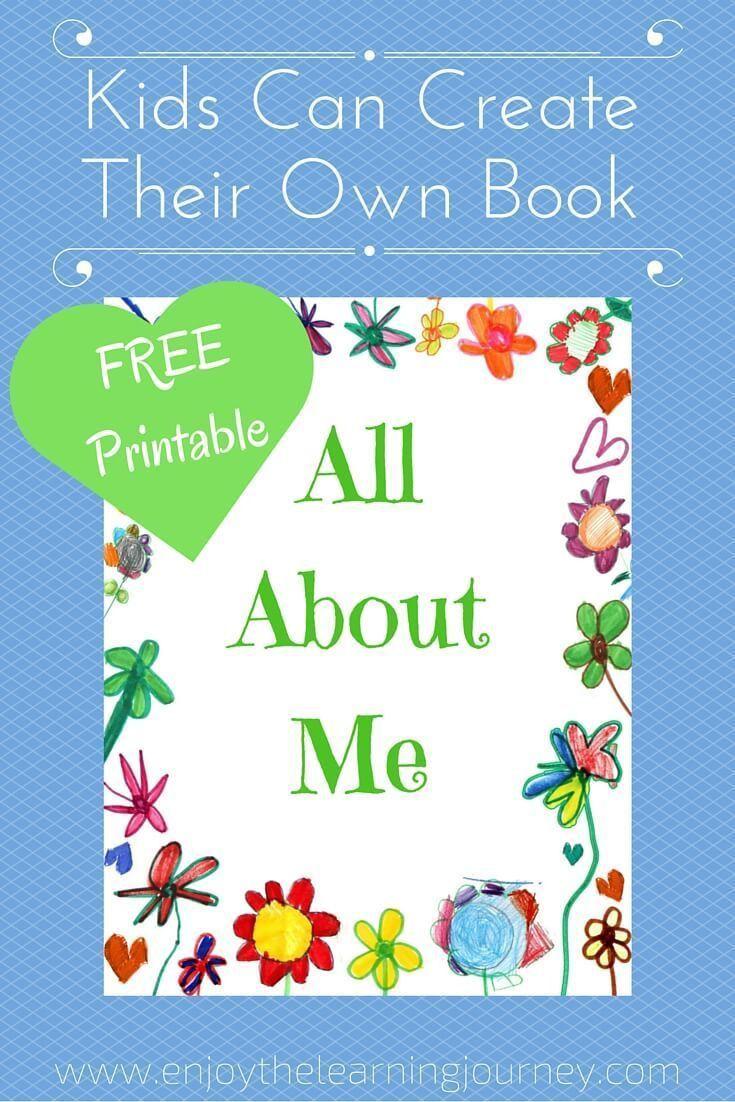 002 Phenomenal Book Template For Kid Example  KidsFull