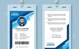 002 Phenomenal Employee Id Badge Template Highest Quality  Avery Card Free Download Word