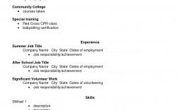 002 Phenomenal Free High School Graduate Resume Template Resolution  Templates