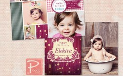 002 Phenomenal Free Online 1st Birthday Invitation Card Maker For Twin Inspiration  Twins