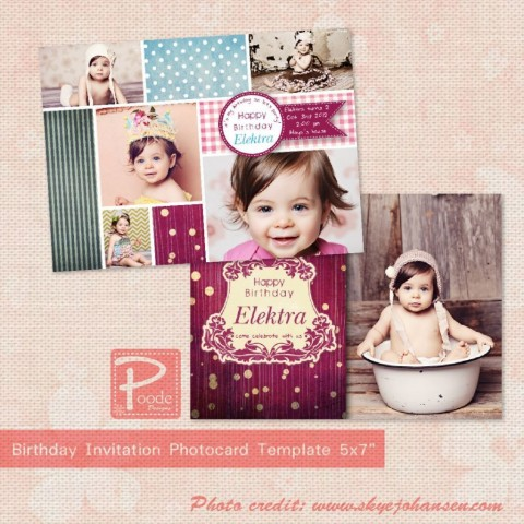 002 Phenomenal Free Online 1st Birthday Invitation Card Maker For Twin Inspiration 480