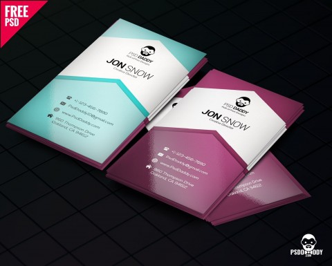 002 Phenomenal Free Photoshop Busines Card Template Download Design  Adobe Psd Visiting480