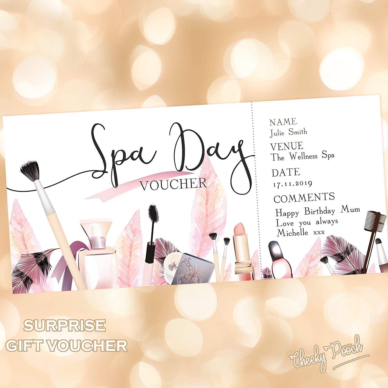 002 Phenomenal Free Printable Birthday Gift Voucher Template High Def Full