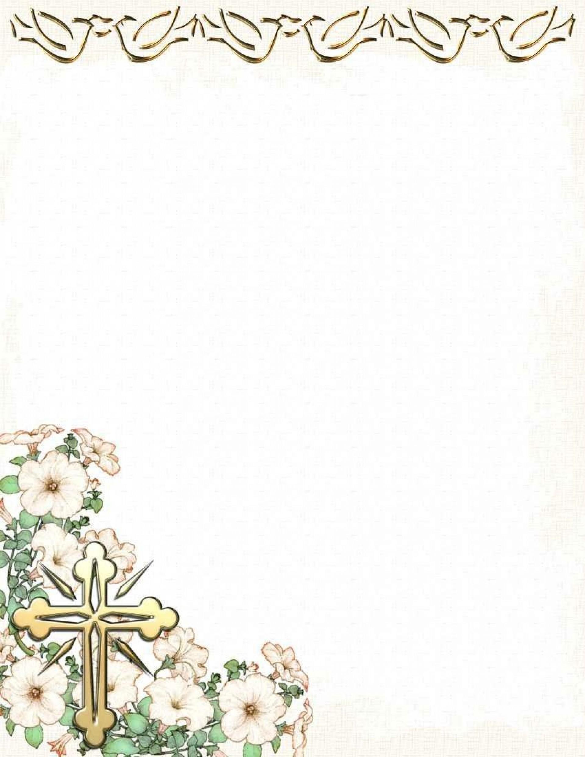 002 Phenomenal Free Religiou Invitation Template Printable Idea 1920