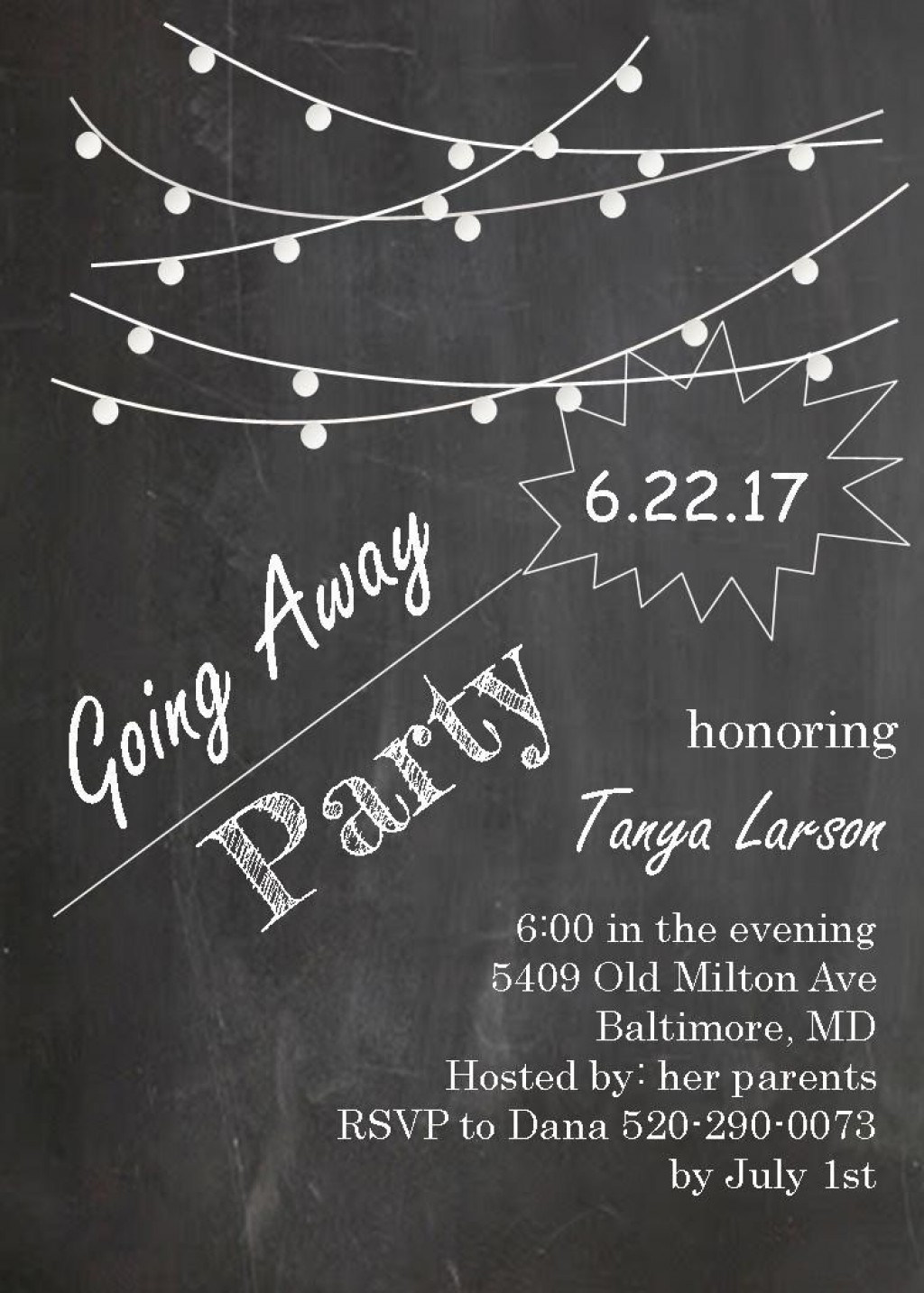 002 Phenomenal Going Away Party Invitation Template High Def  Free PrintableLarge