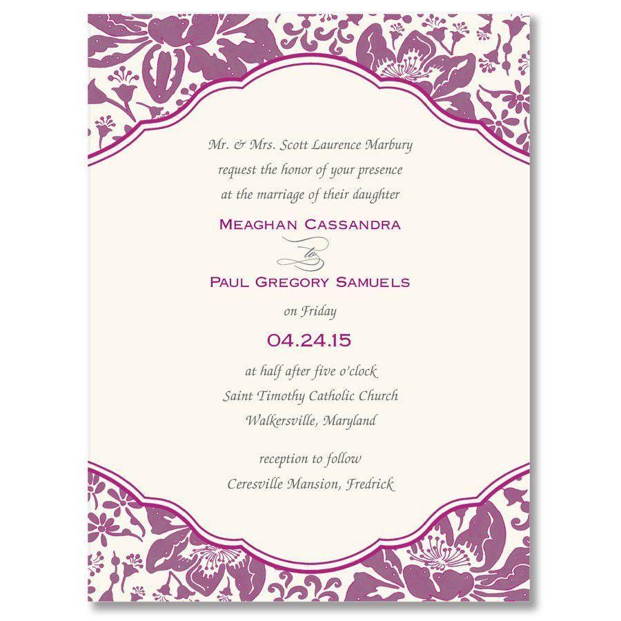 002 Phenomenal Invitation Template For Word Concept  Birthday Wedding Free IndianFull