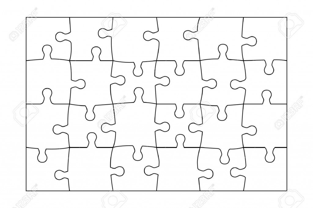 002 Phenomenal Jig Saw Puzzle Template Sample  Printable Blank Jigsaw Vector Free PngLarge