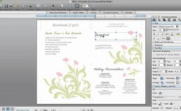 002 Phenomenal Microsoft Word 2020 Birthday Invitation Template Concept