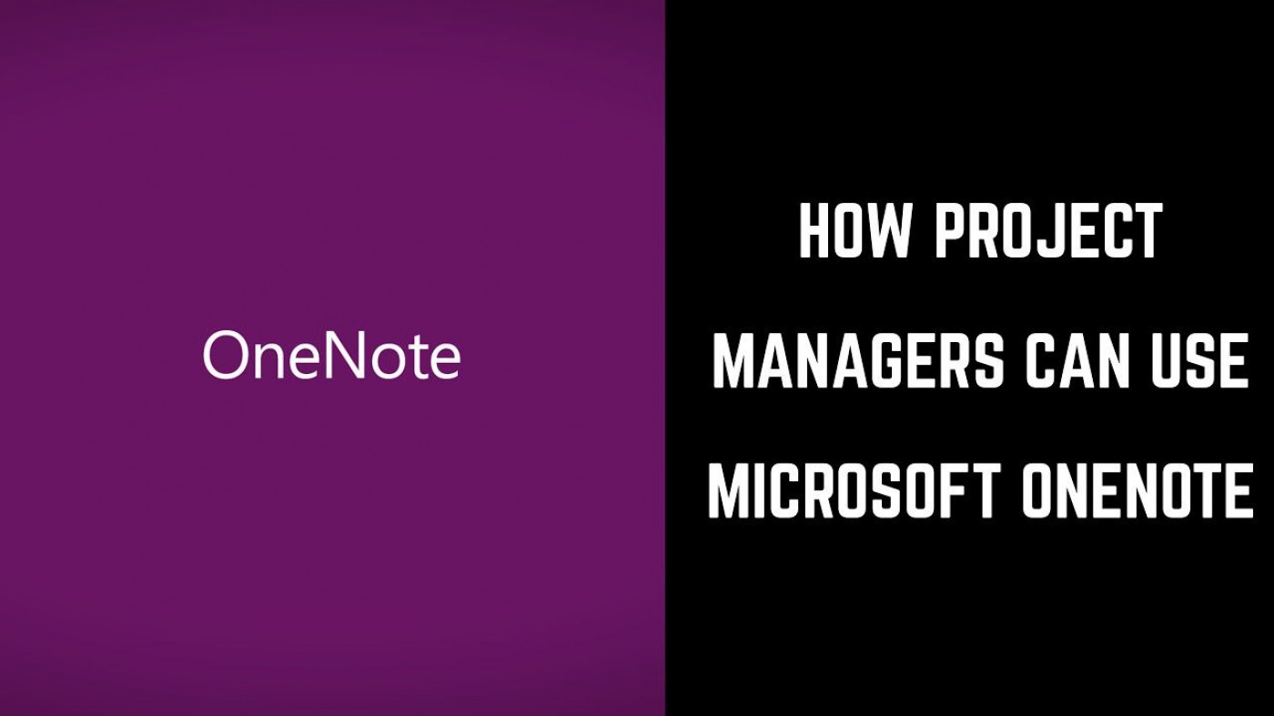 002 Phenomenal Onenote Project Management Template Free Picture  Download1400
