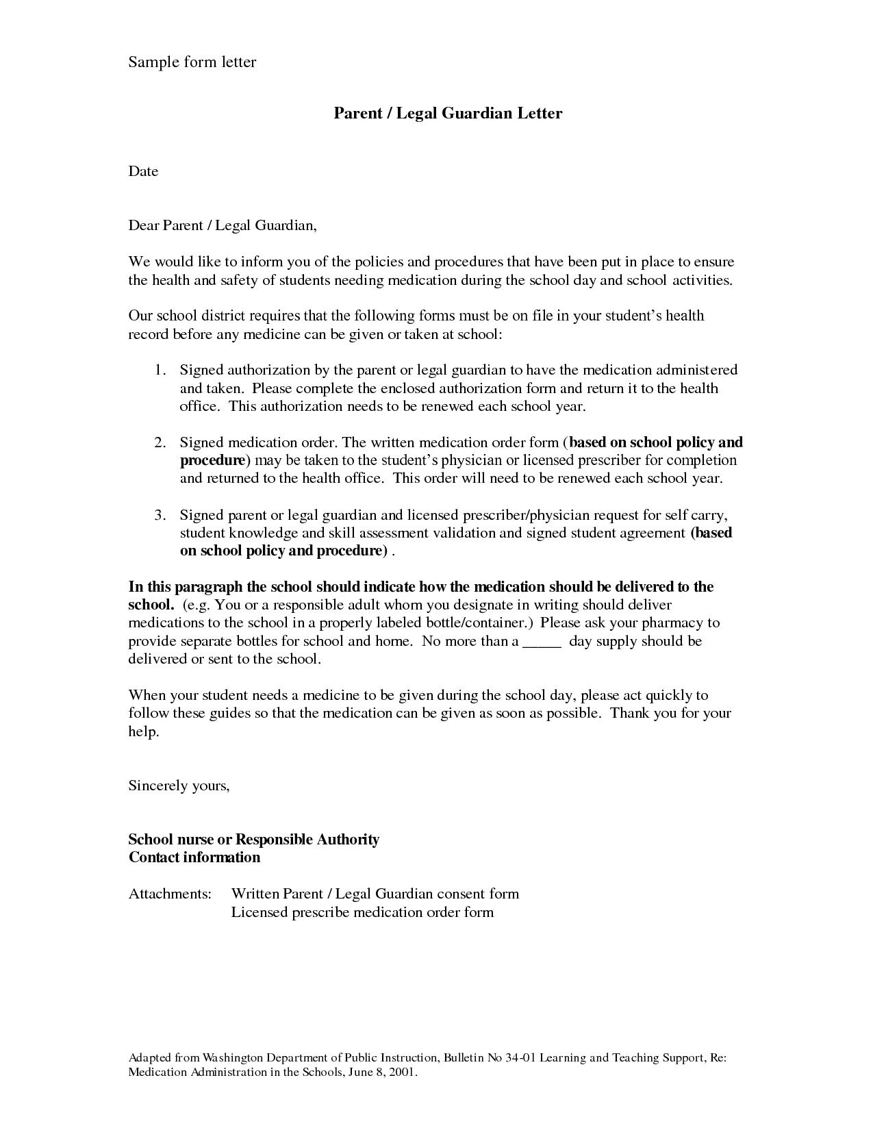 002 Phenomenal Permanent Guardianship Letter Template High Resolution  UkFull