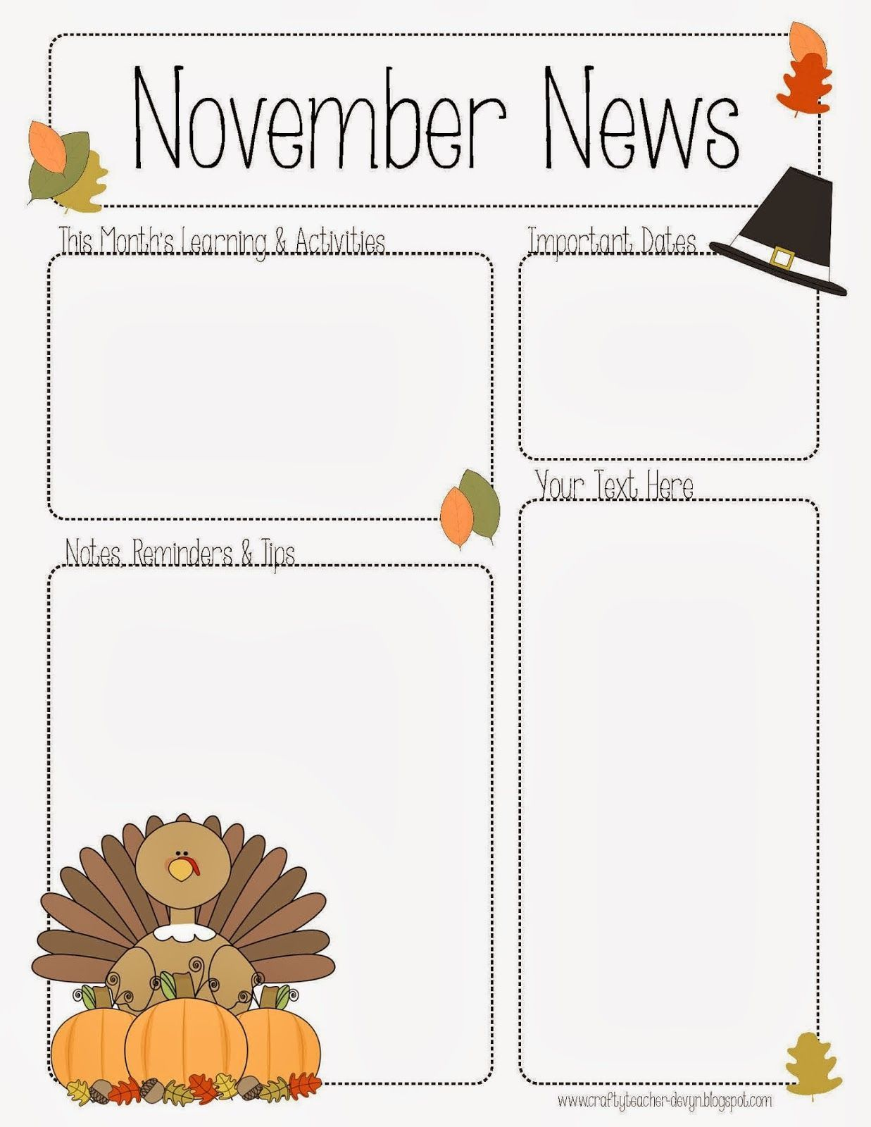 002 Phenomenal Pre K Newsletter Template Example  Templates Free Printable ClassroomFull