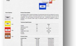 002 Phenomenal Product Data Sheet Template High Def  Spec Word Sample
