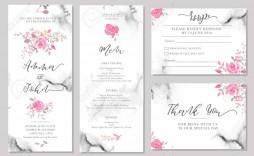 002 Phenomenal Sample Wedding Invitation Card Template Idea  Templates Free Design Response Wording